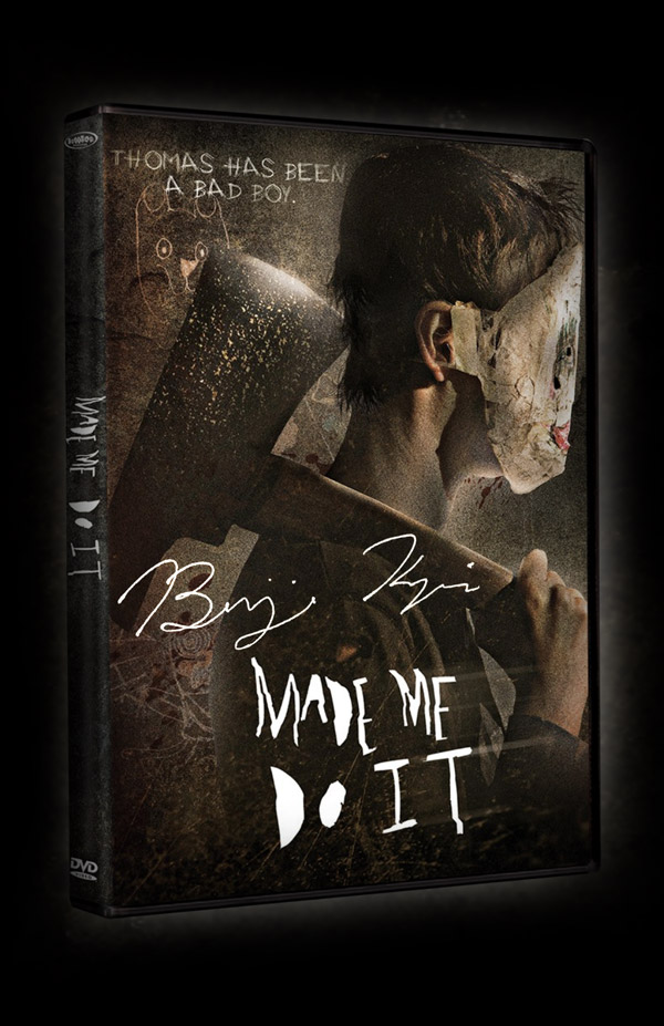 Made Me Do It DVD Signed By Director